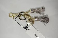 NWT Brahmin Leather Tassel Key Ring Ravine Melbourne. Beautiful Accessory