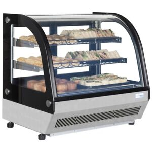 LCT750C COUNTERTOP REFRIGERATED CHILLED DISPLAY SHOP SNACK SANDWICH CAKE DRINK