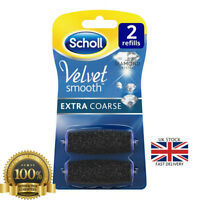 Scholl Velvet Smooth Pedi Machine Refill Extra Coarse Dry Rough Feet Pedicure