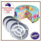 WILTON CHECKERBOARD CAKE TIN PAN BAKING SET ICING COLOUR LAYER PARTY PACK KIT