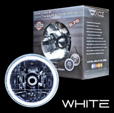 """ORACLE 5.75"""" Sealed Beam Single Headlight + ORACLE Pre-Installed White SMD Halo"""