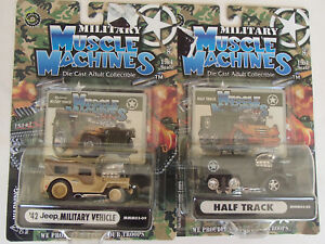 1/64 Scale Die Cast Military Vehicles