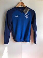 Umbro Rangers FC Football Kid's Club Sweat Shirt - 9-10 Years - Blue - New