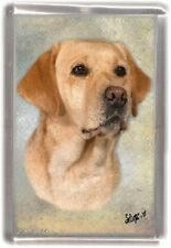 Labrador Fridge Magnet Design No 4 by Starprint