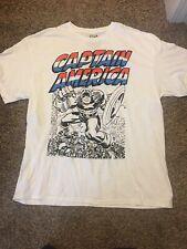 Marvel Captain America Shirt XL
