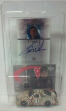 Jerry Nadeau Autograph US Army #01 2004 1/64 Diecast Race Used Hat Card Nascar