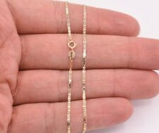 High Polished Mariner Anchor Gucci Anklet Chain Real 10K Solid Yellow Gold 10""