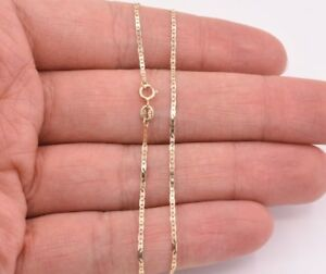 High Polished Mariner Anchor Anklet Chain Real 10K Solid Yellow Gold 10""