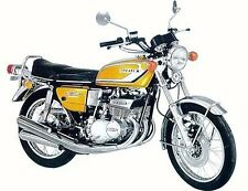 SUZUKI GT380L 1974 MODEL TANK AND SIDE PANELS FULL PAINTWORK DECAL KIT