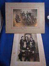 2 anciennes photos lentilly 69 les classes vers 1910