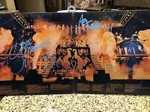 KISS Alive 2 LP Originally Autographed By Gene Paul Ace Peter