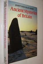 ANCIENT MYSTERIES OF BRITAIN - JANETAND COLIN BORD - ILUSTRADO - EN INGLES