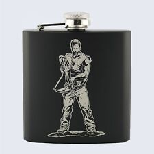 DARYL DIXON, The Walking Dead TV Series Inspired, 6oz Drinks Beverage Hip Flask
