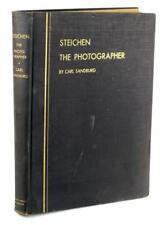 Firmado Edición Limitada 1929 Edward Steichen el Fotógrafo Carl Sandburg