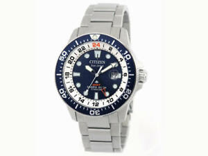 Citizen BJ7111-86L Men's Super Titanium Promaster GMT Eco-Drive Watch