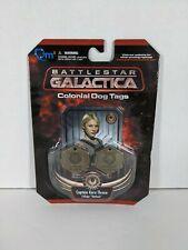 Battlestar Galactica Colonial Dog Tags Captain Kara Thrace Callsign Starbuck