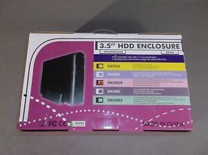 """3.5"""" USB 2.0 External SATA IDE Aluminum Hard Drive Enclosure Portable SATA/IDE"""