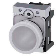 Siemens Sirius acto Blanco LED Luz Piloto Completa, recorte de 22mm, IP20, 230 V AC