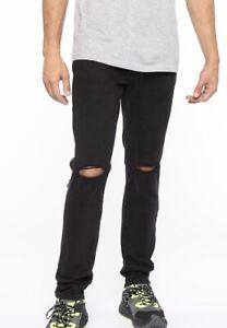 Fashion Nova Knees Mens Skinny Jeans