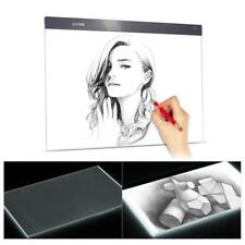 "A2 26.6"" LED Tracing Light Box Drawing Tattoo Board Pad Table Stencil Art F7M9"