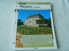 Castle Château Micault à Pommard Bourgogne France Fiche