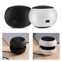 Mini Portable 3.5mm Wired  Speaker Built-in Battery for Mobile Phone PC MP3
