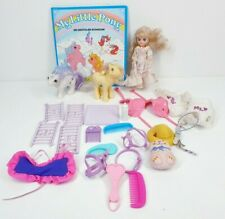 My Little Pony Vintage 1980s Bundle Baby Glory Flutter Megan Doll Accessories