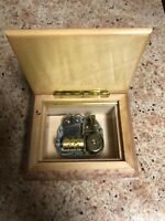 Vintage Swiss Romance Musical Movement By Reuge Made In Italy Music Box