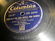 9/1r Dinah Shore-Laughing on the outside-Shoo Fly Pie and Apple Pan DOWDY