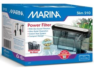 Marina Slim Filter S10 For Aquariums up to 10 US Gal