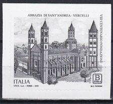 Italia 2019 Abbazia S.Andrea a Vercelli Mnh