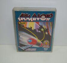 Cassette msx arkanoid