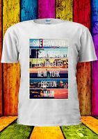 San Francisco Diego Los Angeles T-shirt Vest Tank Top Men Women Unisex 1600