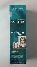 3 x John Frieda Lux Volume Fine 2 Full Blow-Out Spray Salon Quality Soft  4oz