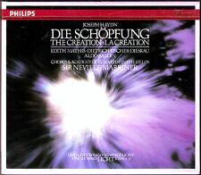 MARRINER: HAYDN Die Schöpfung The Creation 2CD Edith Mathis Fischer-Dieskau 1986