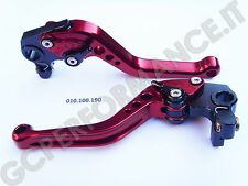 LEVE FRENO E FRIZIONE (PAIR OF LEVER ERGAL ANODIZED) FOR DUCATI 796 HYPERMOTARD