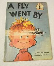 I CAN READ IT ALL BY MYSELF  A FLY WENT BY BY MIKE MCCLINTOCK 1958 ENGLISH