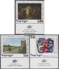 Israel 492-494 with Tab (complete issue) unmounted mint / never hinged 1970 Pain