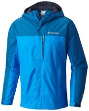 Columbia Pouring Adventure II Jacket - Man - M - Waterproof - Impermeable - NEW