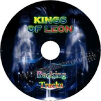 KINGS OF LEON GUITAR BACKING TRACKS CD BEST GREATEST HITS MUSIC PLAY ALONG
