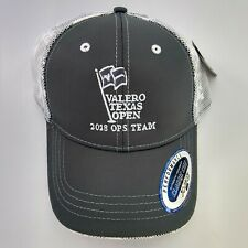 Rare Valero Texas Open 2018 Ops Team Pga Tour Golf Hat Quality Mesh Upf 50