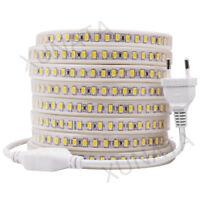 220V 240V 5630 5730 SMD LED Strip Light Rope 120leds/m Waterproof IP67 White