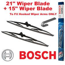 "Bosch Super Plus Front Wiper Blades 21"" Inch SP21 and 15"" Inch SP15 Pair Windscr"
