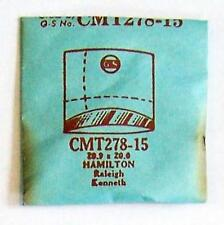 GS Cmt278-15 20.9 X 20.0mm for Hamilton Kenneth Raleigh NOS Watch Crystal