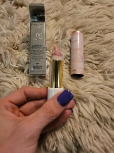 LANCOME L'Absolu Tone Up Balm Lipstick # 601 ROSE MARBLE Limited Edition NIB