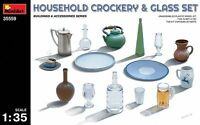 Miniart 1:35 - Househiniart 1:35 SCALE - Household Crockery & Glass Set MIN35559