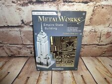 Fascinations Metal Earth 3D Laser Cut Model Empire State Building