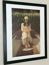 Neil Moore print - Rainbow Trout - frame 20''x16'', lady poster, fish poster