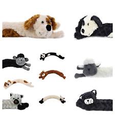 Novelty Draught Excluder Dog Cat Design Fabric Fleece Draft Door Stopper Cushion