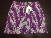 Callaway Skort Skirt Size S  Golf Athletic Grape Juice Purple NWT No Sales Tax